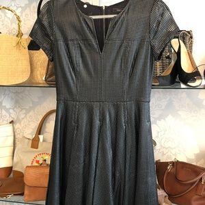 "BCBGMAXAZRIA Black ""Karlie"" Cut Out Dress"